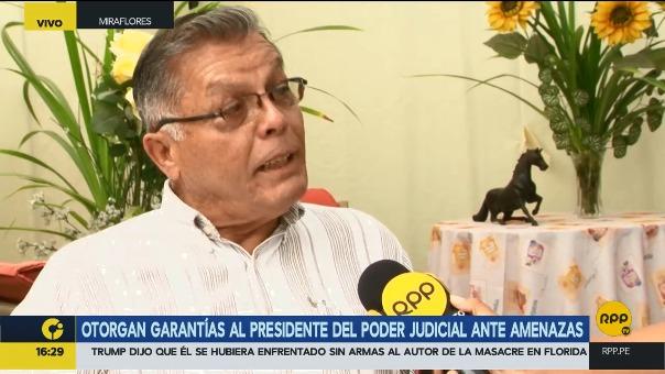 Según Eduardo Pérez Rocha, el pedido de Duberlí Rodríguez es mediático y posiblemente tenga intenciones políticas.