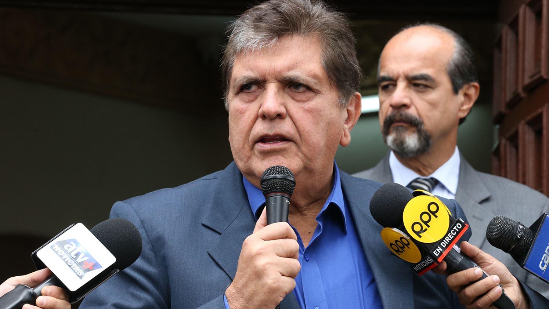 El ex presidente dijo que está dispuesto a acudir a cualquier interrogatorio.