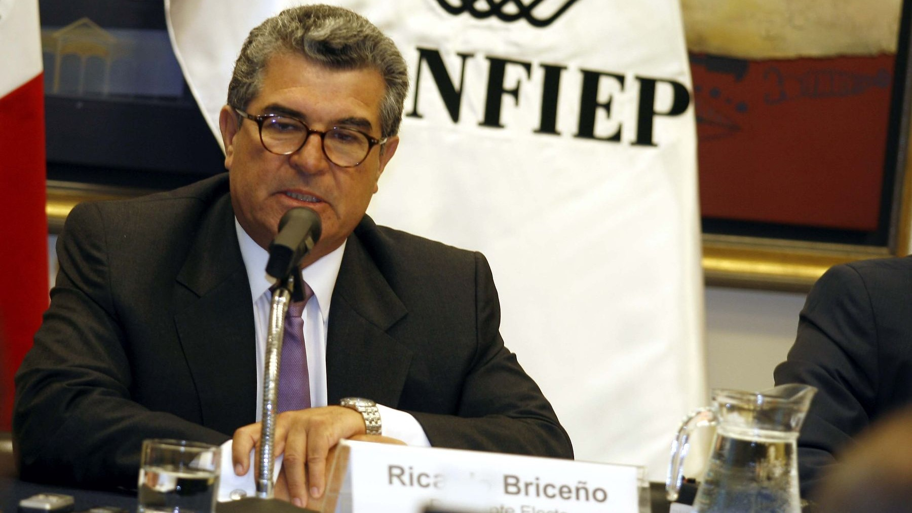 Ricardo Briceño aclaró que su cargo como presidente de la CONFIEP fue durante marzo de 2009 y febrero de 2011.