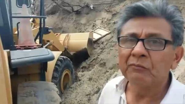 Propietario de la construcción dijo que asumirá su responsabilidad.