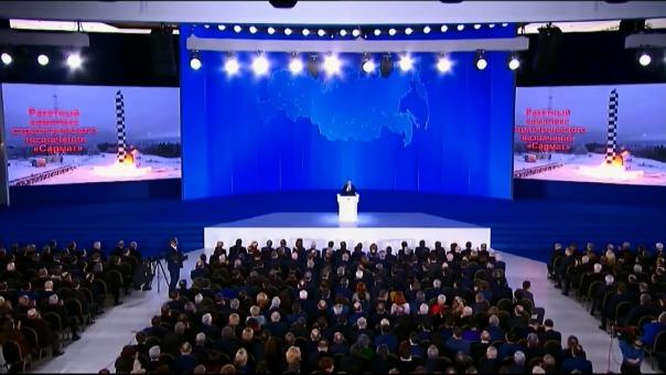 Así fue la presentación de Putin en la que exhibió el poderío de las Fuerzas Armadas de Rusia.