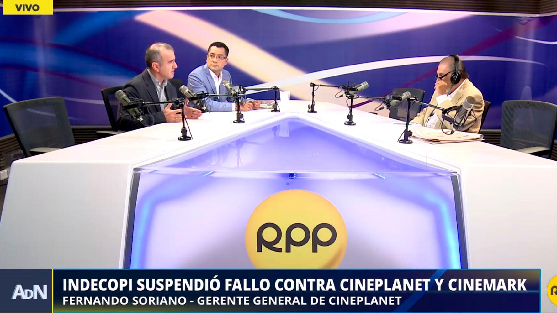 Indecopi suspendió fallo contra Cineplanet y Cinemark