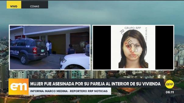 La mujer fue asesinada el domingo en la noche.
