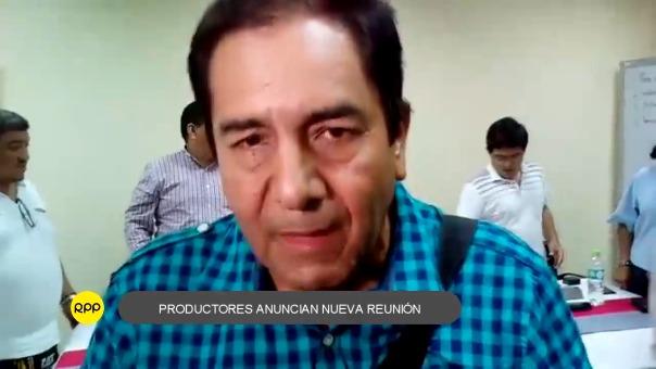 Víctor Paredes Zumaeta anunció que nuevamente se reunirán con autoridades este miércoles.