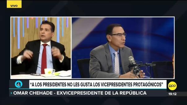 El exvidepresidente dijo que el Gobierno de PPK ha perdido legitimidad y que Vizcarra debe Gobernar.