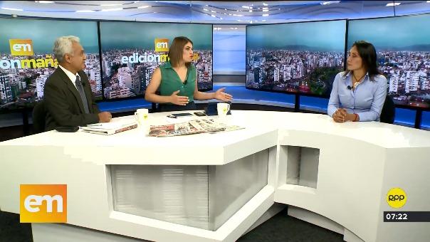 Mira la entrevista a Patricia Donayre en 'Edición Mañana'.