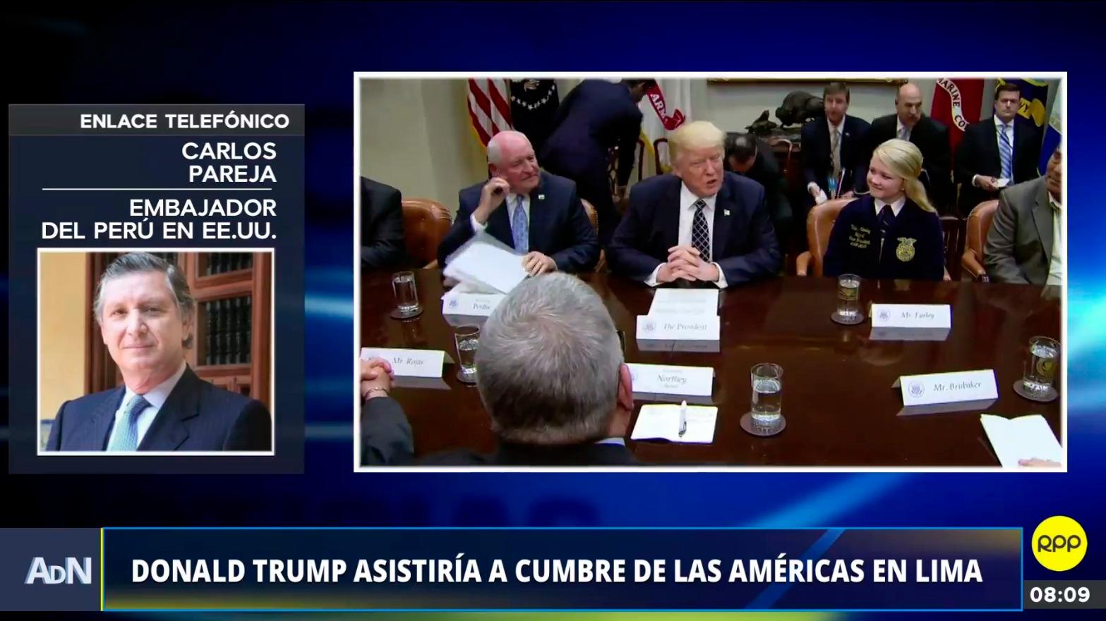 Donald Trump asistiría a Cumbre de las Américas