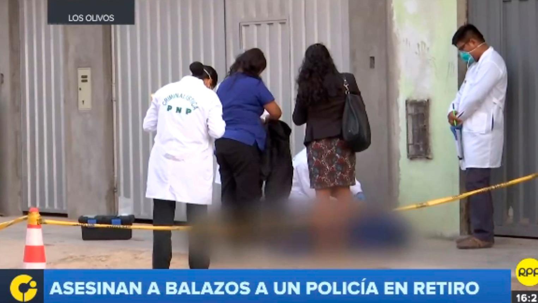 Crimen en Los Olivos