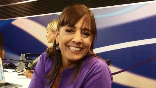 Patricia del Río recordó sus vivencias en el colegio.
