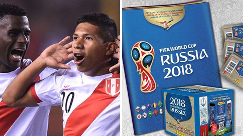 La Selección Peruana volverá a salir en un álbum desde España 1982.