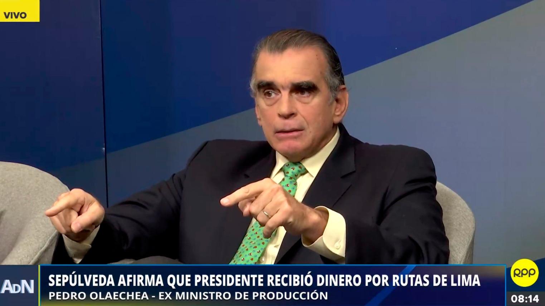 El congresista dijo que le parece bien que el fiscal esté realizando su investigación al presidente.