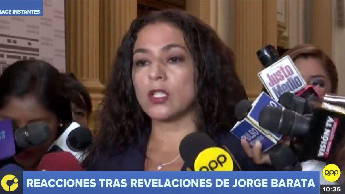Los congresistas reaccionaron tras la publicación de una transcripción de parte del interrogatorio a Jorge Barata, exjefe de Odebrecht en Perú.