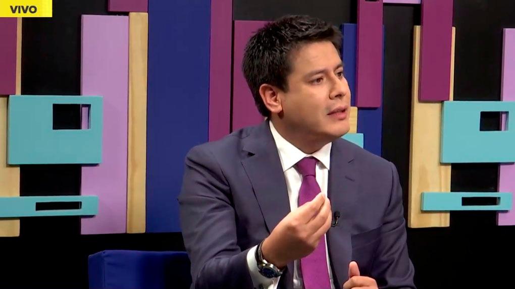 El congresista de Fuerza Popular Edwin Vergara en el programa Nada Está Dicho en RPP Noticias.