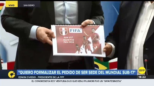El proyecto de la FPF para organizar el Mundial Sub 17 del 2019