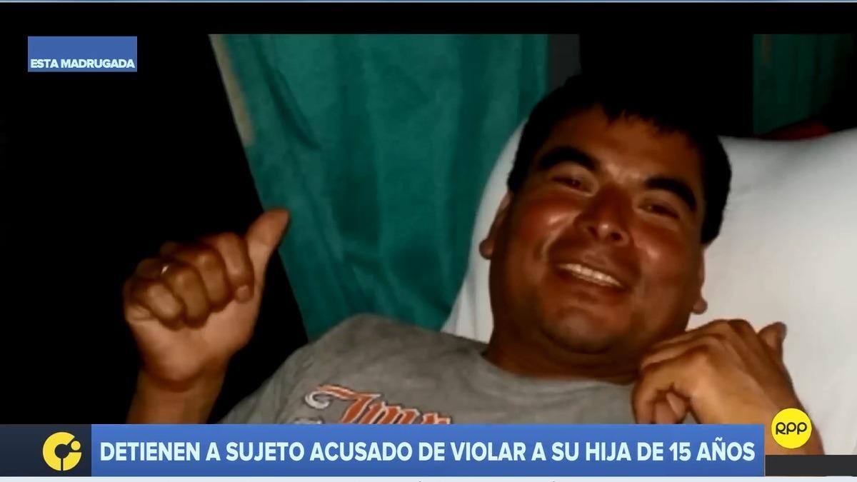 Detienen a sujeto acusado de violar a su hija de 15 años en Barranco ...