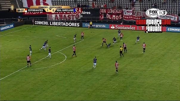Los goles de la victoria de Estudiantes de La Plata.