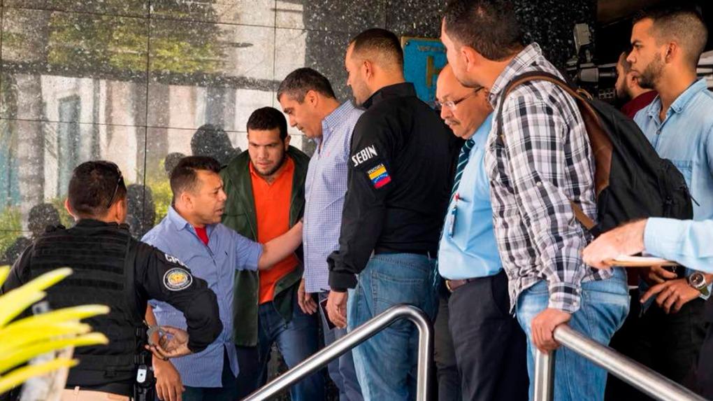Miguel Rodríguez Torres fue detenido en un evento de la alianza opositora Frente Amplio.