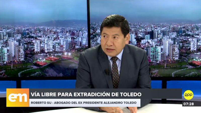 Roberto Su Rivadeneyra estuvo esta mañana en los estudios de RPP Noticias.