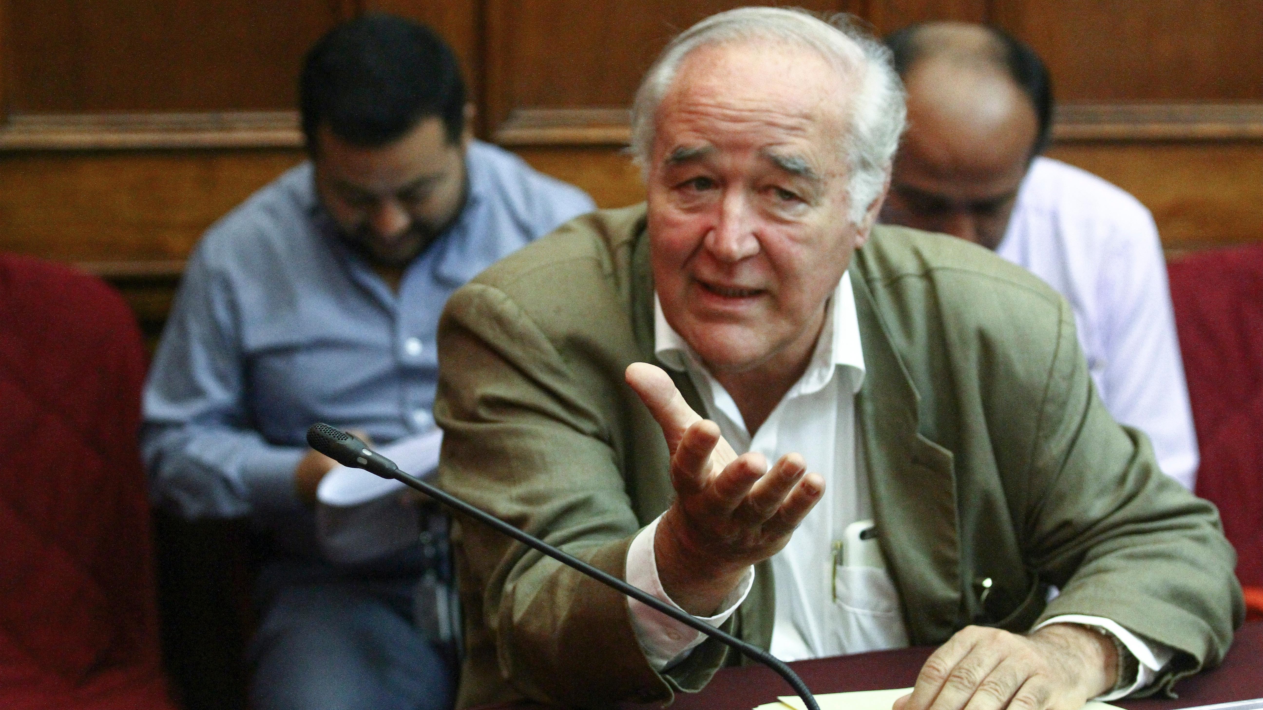 El congresista Víctor Andrés García Belaunde en el programa '¿Quién tiene la razón?'.