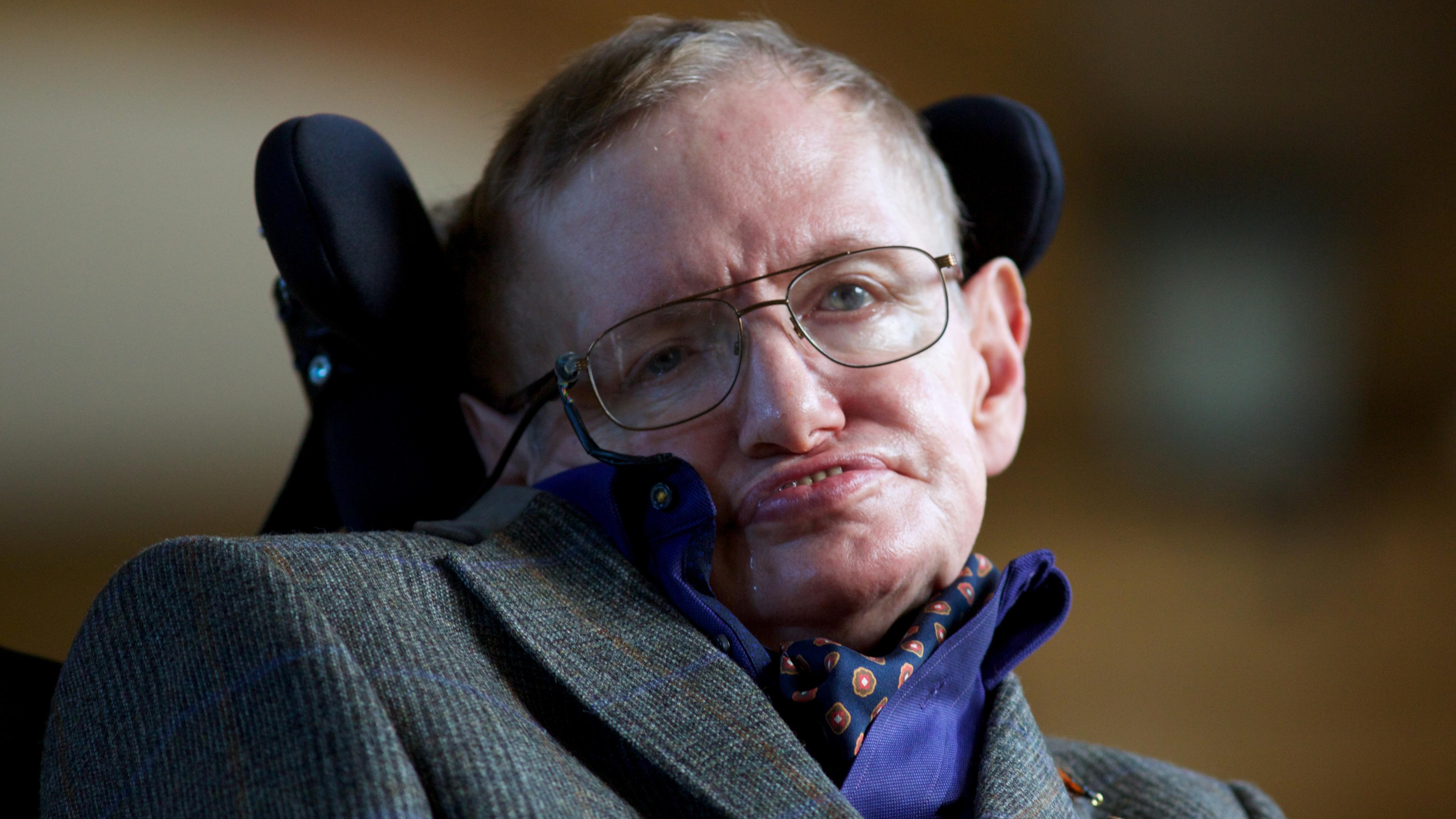 Se presume que Stephen Hawking tenía un coeficiente intelectual de 160.