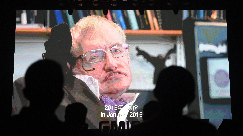 Stephen Hawking tenía una mente positiva.