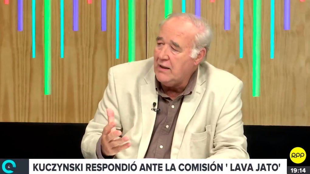 Víctor Andrés García Belaunde en el programa '¿Quién tiene la razón?' en RPP Noticias.