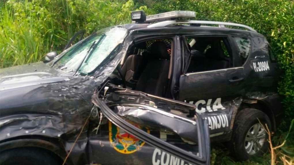 Los cuerpos de los cinco suboficiales fueron trasladados a la morgue de Chachapoyas.