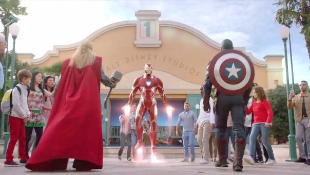 Disneyland París prepara espectáculo en vivo con los héroes y villanos de Marvel.