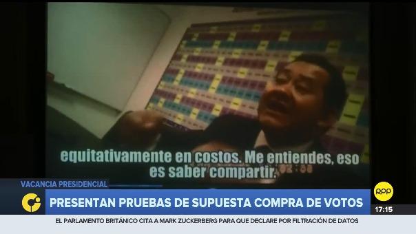 Esta es la conversación de Moisés Mamani con Bienvenido Ramírez.