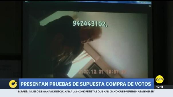 Este es el video en el que Mamani conversa con Alberto Borea, abogado de PPK.