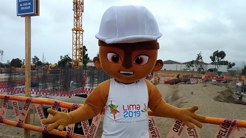 Milco es la mascota oficial de los Panamericanos Lima 2019.