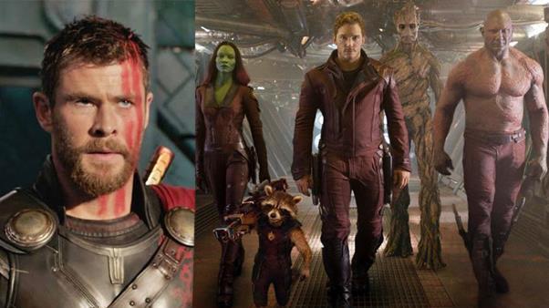 Marvel revela cómo se conocen Thor y los Guardianes de la Galaxia.
