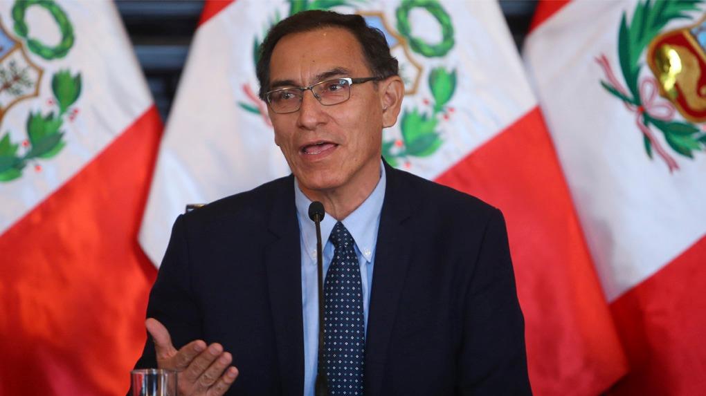 Martín Vizcarra juró como presidente de la República el pasado 23 de marzo.