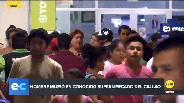 El incidente se produjo en el Tottus ubicado en la avenida Lima, en Callao.
