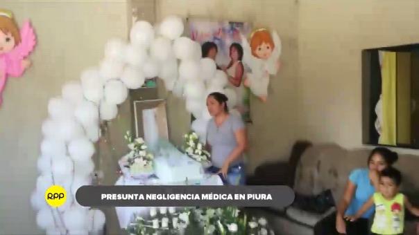 Familiares velan los restos de la bebé en su domicilio ubicado en el asentamiento Ex Polvorines.