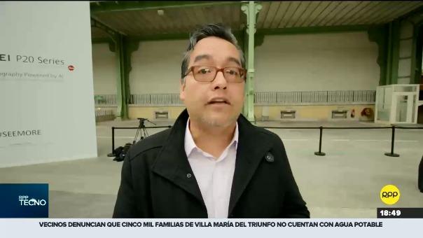 Jesús Véliz, enviado especial de RPP a París, nos cuenta más sobre el nuevo smartphone de la compañía china.