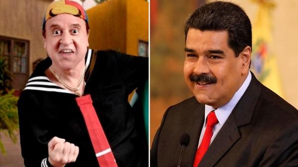 El actor Carlos Villagrán se mostró en contra de Nicolás Maduro.