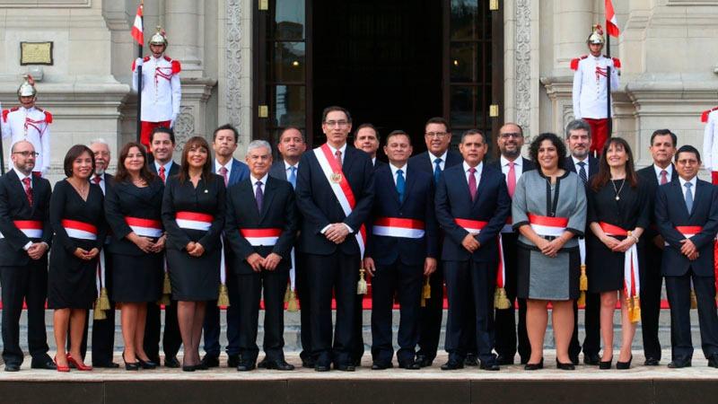 Resultado de imagen para Martin Vizcarra y su gabinete