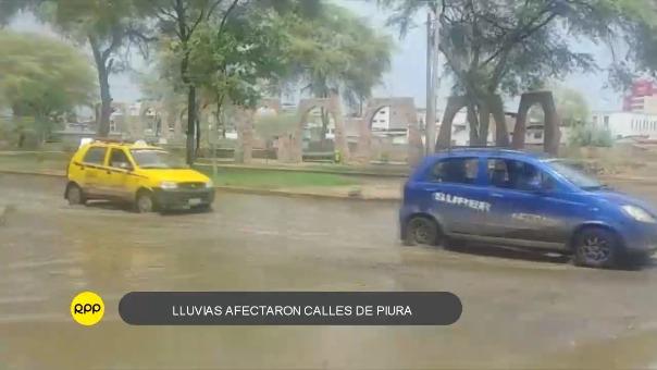 La precipitación de gran intensidad ocasionó daños en los caminos de acceso no solo a los pueblos más alejados, sino también en la ciudad