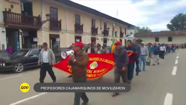 Paro de profesores convocado Pedro Castillo
