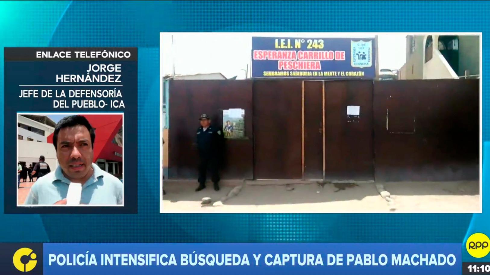 Policía está tras los pasos de Pablo Machado, investigado por el abuso sexual a menor de tres años.