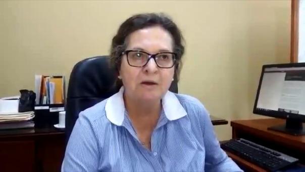 Directora Regional de Cultura de Ica, Ana María Ortiz.