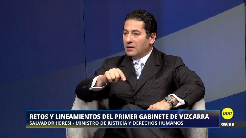 Salvador Heresi estuvo esta mañana en Enfoque de los Sábados.