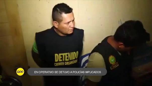"""Detienen a integrantes de la banda delincuencial """"Los Capos de la Construcción""""."""