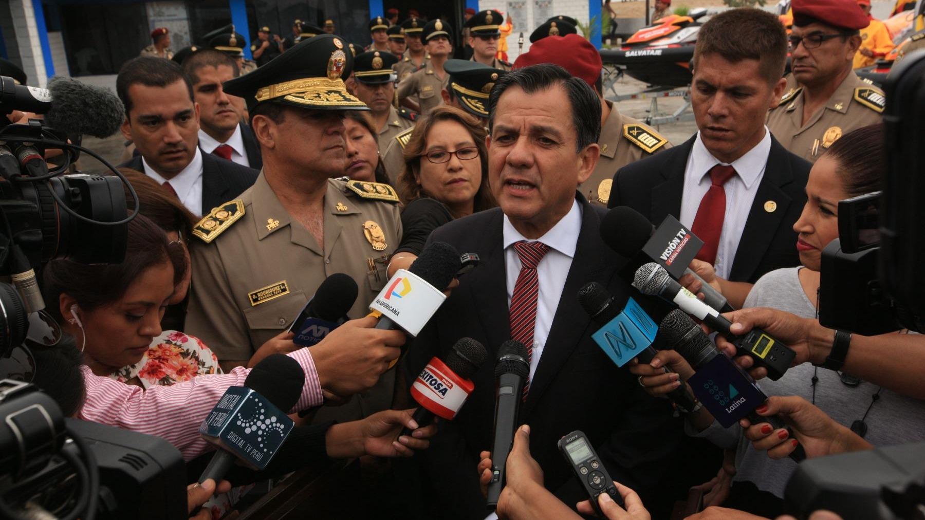 Mauro Medina Guimaraes juró como ministro del Interior el pasado lunes 2 de abril.