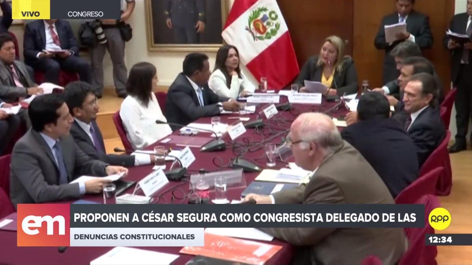 César Segura dirigirá la investigación contra Kenji Fujimori en subcomisión del Congreso
