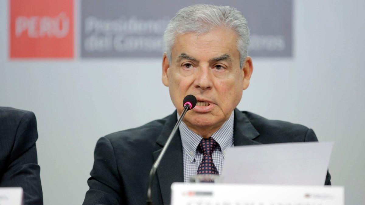 El premier Villanueva explicó la reunión del presidente Vizcarra con el excongresista Óscar Medelius