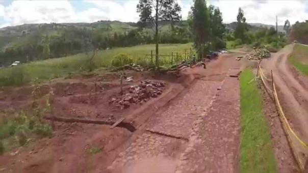Restauración del Camino Inca.