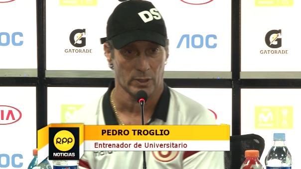 Pedro Troglio debe alistar el equipo para el duelo con Comerciantes Unidos en Lima.