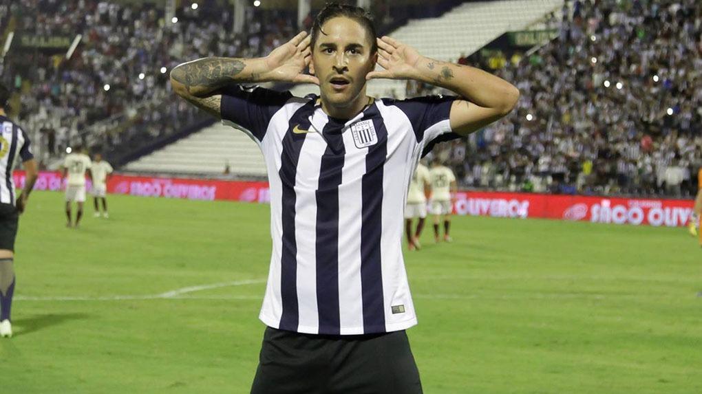 Alejandro Hohberg tuvo su primera experiencia en el fútbol peruano con Melgar en el 2014.